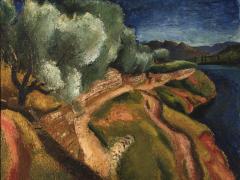 Paisatge, cap a 1937. Museu de Maricel, Sitges. Dipòsit del Fons  d'Art de la Generalitat de Catalunya, 2014
