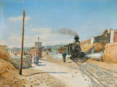 L'estació de Sitges