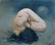 Female Nude Torsion