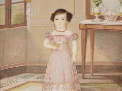 Nena d'un artista espanyol anònim, cap a 1825