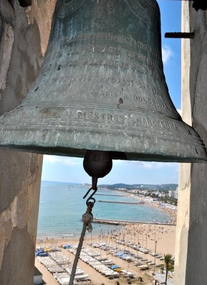Vista des de el campanar de la Parròquia de Sitges