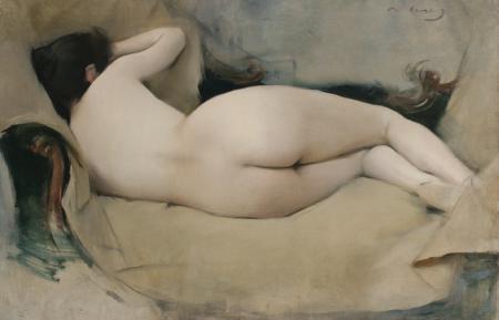 Nu femení, Ramon Casas (1894)