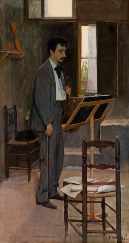 En Tirano (Retrat de Salvador Robert)