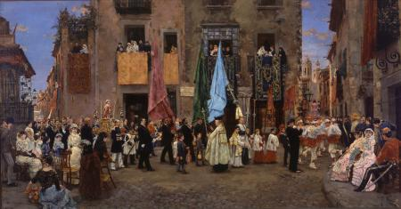 La processó de Sant Bartomeu (The procession of Sant Bartomeu)