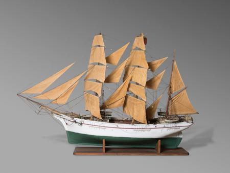Model of Brig, Pablo Sensat