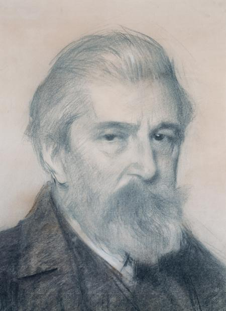 Portrait of Santiago Rusiñol