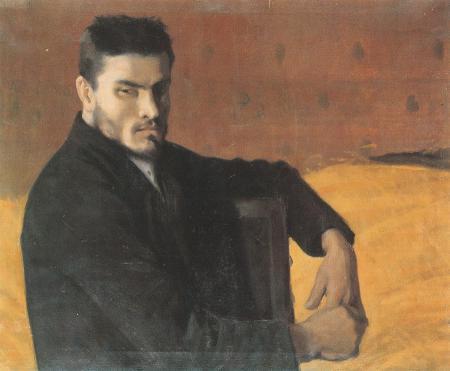 Retrat de l'escultor Carles Mani