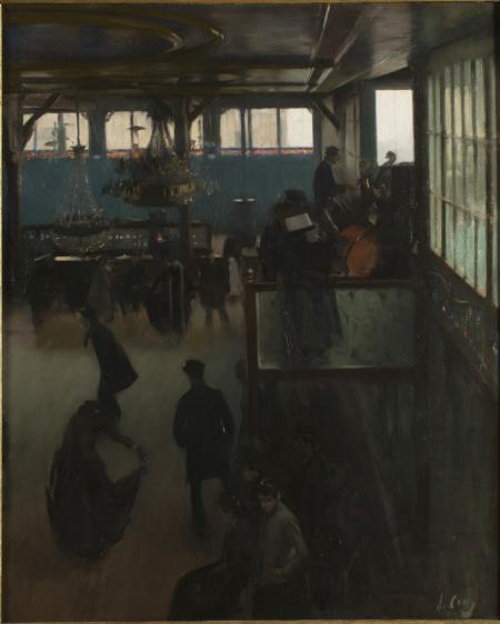 'Ball al Moulin de la Galette', de Ramon Casas (1890-91)