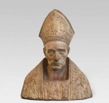'Bust de Juli de Carsalade du Pont, bisbe d'Elna', de Gustau Violet