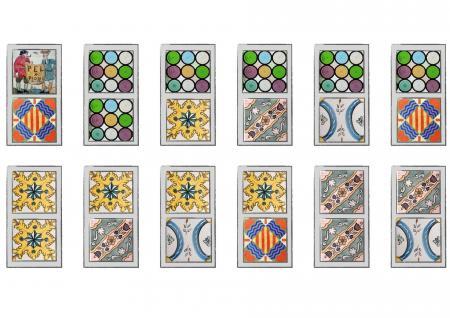 Dòmino de rajoles dels Museus de Sitges