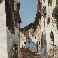 'Carrer d'en Bosch', de Joaquim de Miró i Argenter