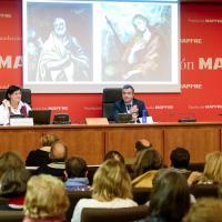 Conferència de Vinyet Panyella a la Fundació Mapfre, dimecres passat, amb motiu de l'exosició de Zuloaga