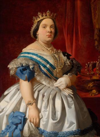 Portrait of Isabel II