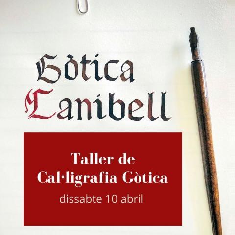 Taller de cal·ligrafia gòtica