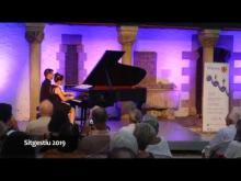 Clàssica al Racó de la Calma amb Antón & Maite Piano Duo (Sitgestiu 2019)