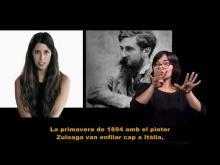El Museu del Cau Ferrat en llengua de signes
