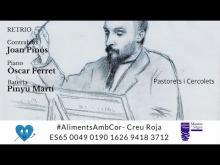 Retrio. Joan Pinós, Óscar Ferret i Pinyu Martí. Concer solidari Creu Roja. #AlimentsAmbCor